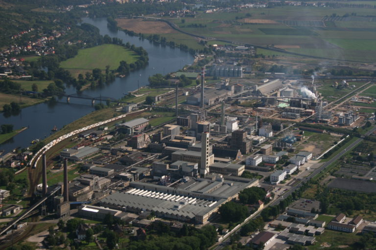 Factory of Van Iperen partner Lovochemie