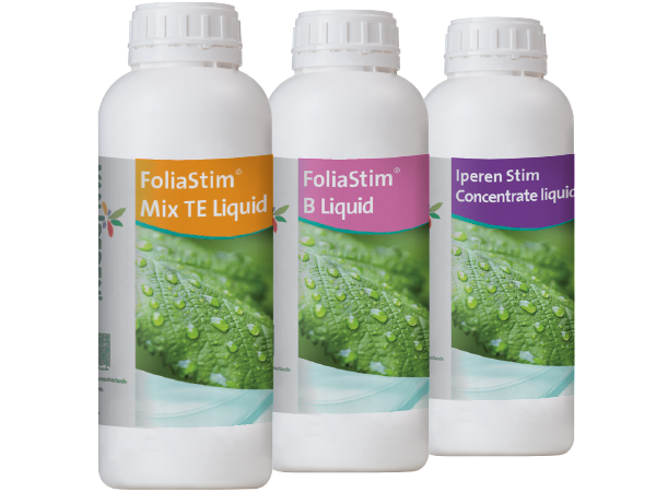 Bottles of FoliaStim® products