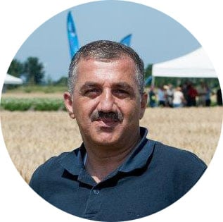 Naser Sharabati, Van Iperen partner in Palestine