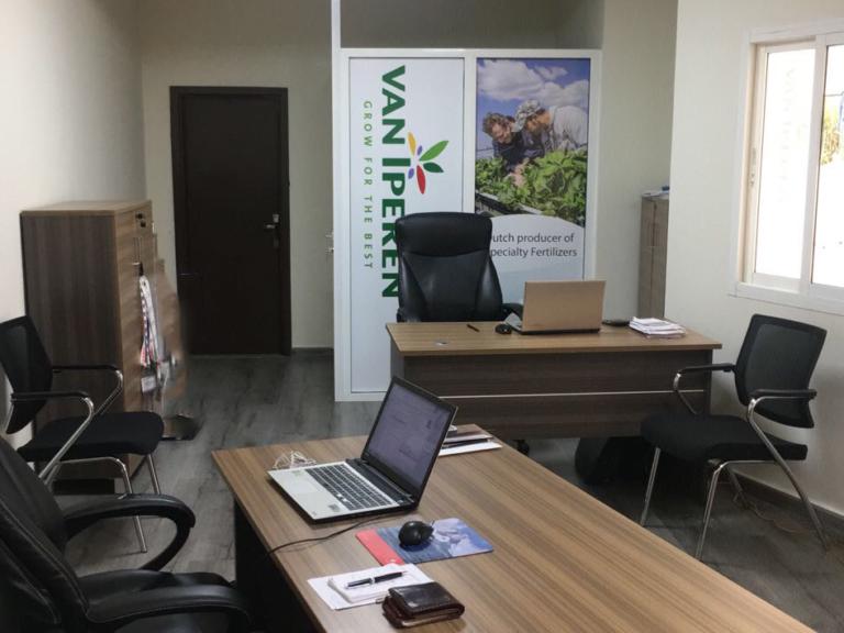 Van Iperen International office in Beirut, Lebanon